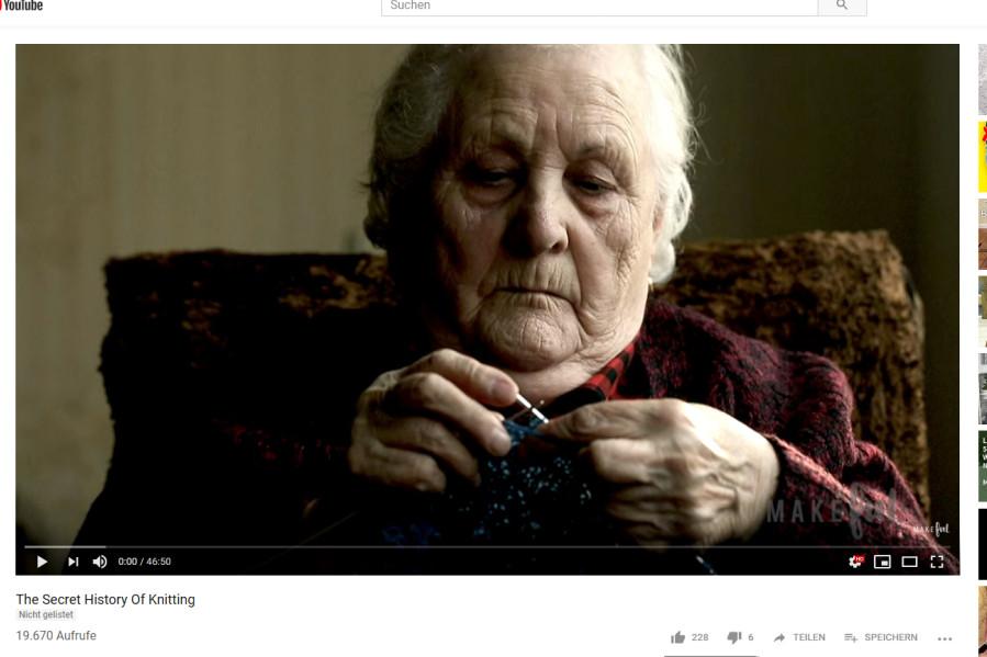 The secret history of Knitting
