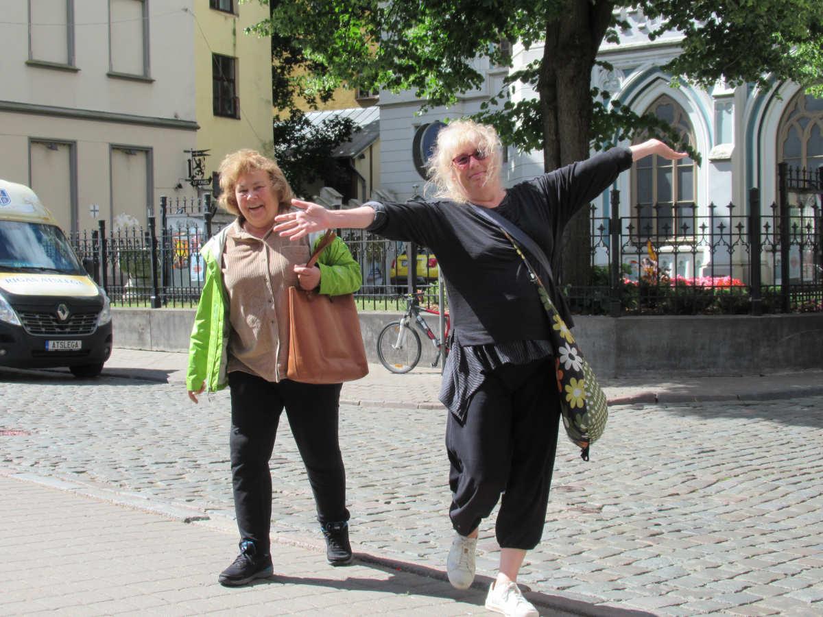 Pat und Sue