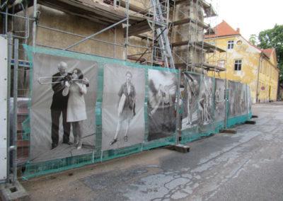 Kirchenrenovierung samt Photoausstellung