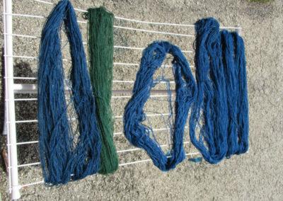 verschiedenste Blautöne
