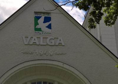 Bahnhof von Valga