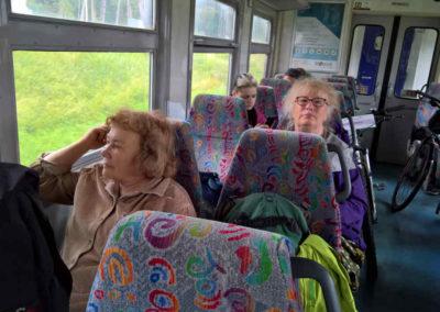 Im Zug nach Valga