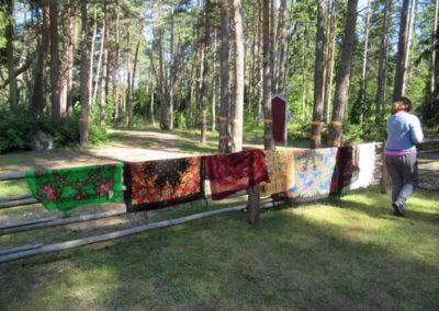 Tücher-Ausstellung