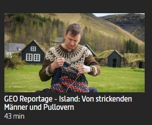 TV: Von strickenden Männern und Pullovern