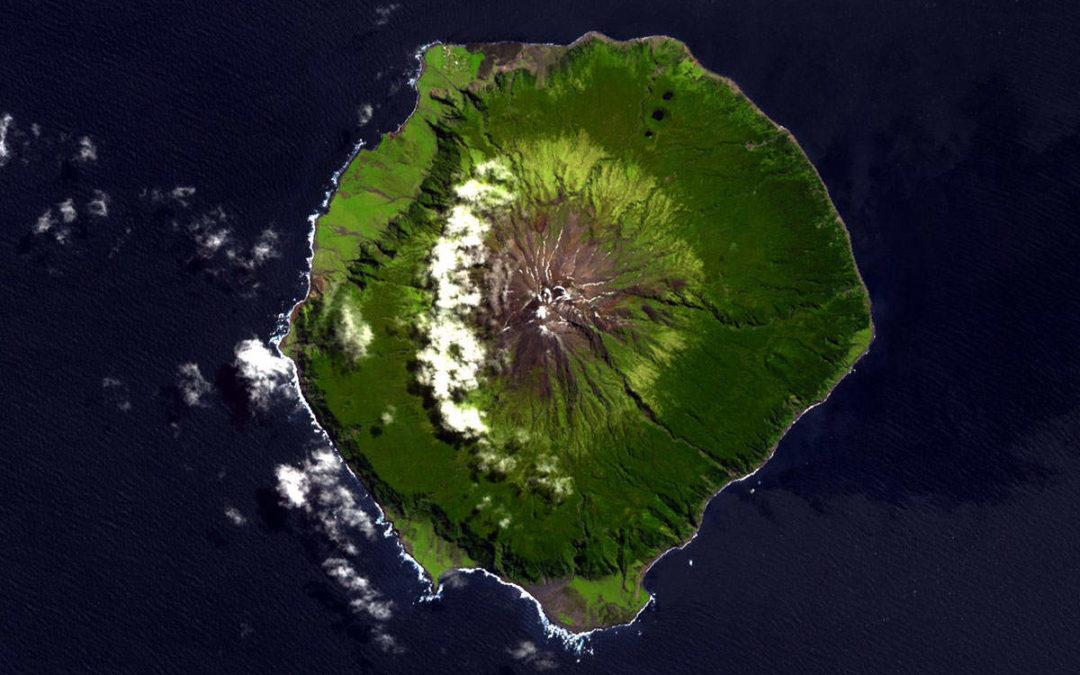 Wo liegt Tristan da Cunha?