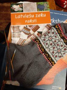 Lettische Socken