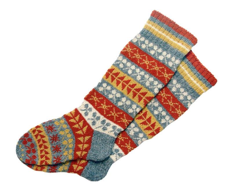 Socken blocken? Unbedingt!