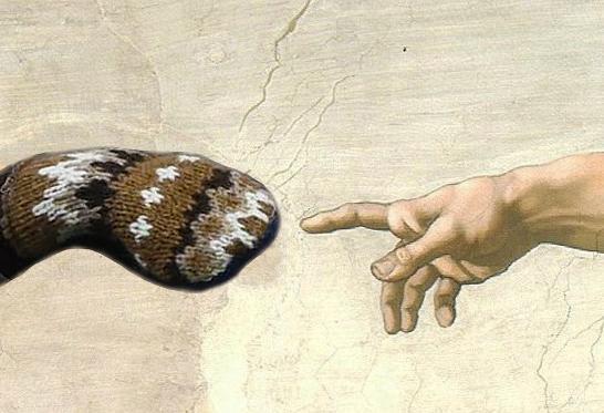 Sanders & Michelangelo