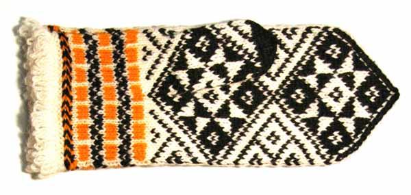Frauenhandschuh aus der Region Latgale