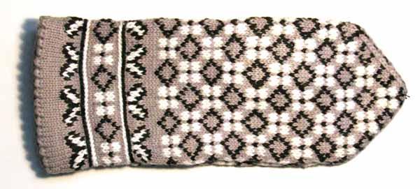 Männerhandschuh aus der Region Latgale
