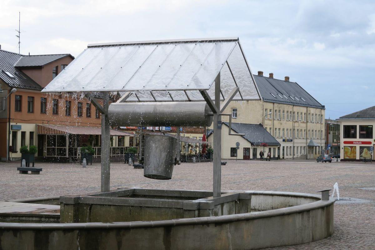 Marktplatz in Dobele