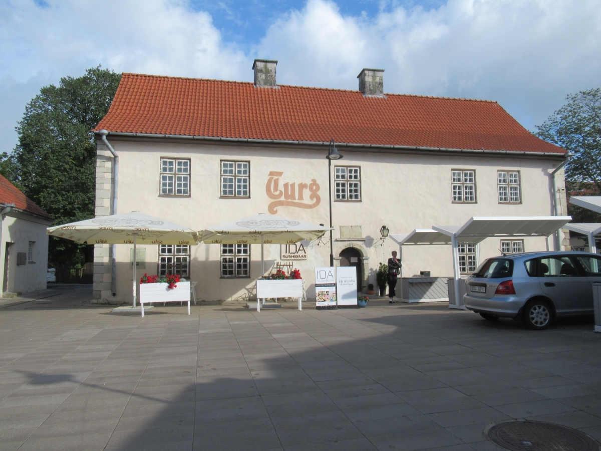 Im Markt von Saaremaa ist jetzt ein Sushi-Restaurant