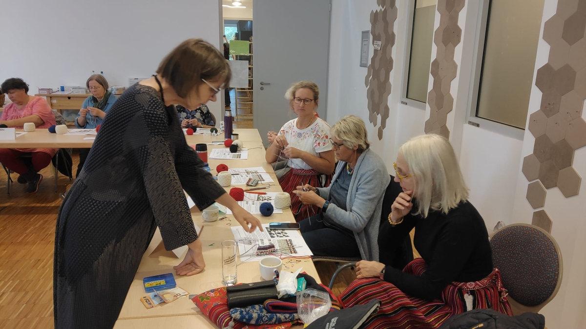 Workshop mit Riina Tomberg in Greifswald